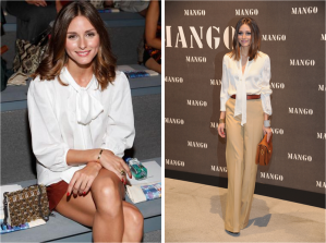 bloggers blog bow silky blouse olivia palermo