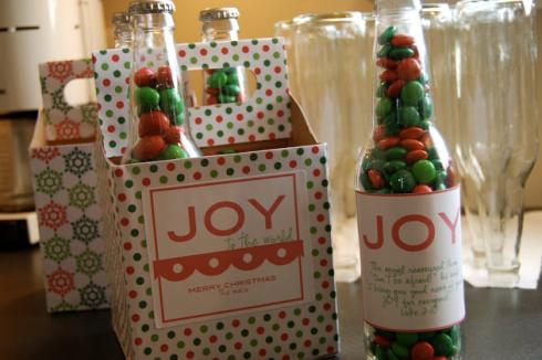botellas con dulces