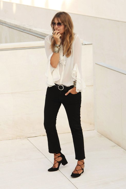 style lovely black and white Del blog a mi armario